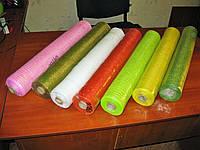 Сетка декоративная для украшения цветная