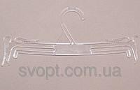 Плечики - вешалка бельевая Расческа прозрачная