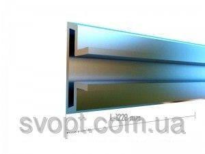 Вставка в эконом-панель алюминевая Длина L-1220mm