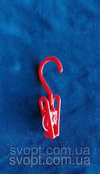Вешалка - крючок пластмассовая