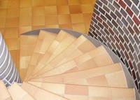 Клинкерные ступени (плитка для ступеней)