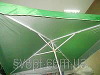 Торговый зонт 2,5x2,5м с серебряным напылением