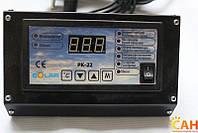 Комплект автоматики: блок управления Nowosolar PK-22 Lux и вентилятор наддува Nowosolar NWS 75