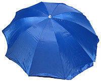 Зонт круглый (2,8м) с серебряным напылением на 10 пл. спиц