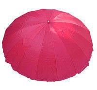 Зонт пляжный круглый (3,5м) с серебряным напылением