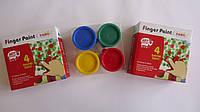 """Пальчиковые краски """"Finger Paint"""", 4цв,140мл,Art Rangers для раннего детского творчества и рисования.Краски дл"""