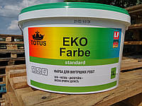 Краска для внутренних работ Totus ECO FARBE 1,4 кг.