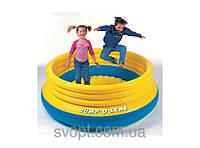 Детский круглый надувной батут (203х69см.) 48267 Intex