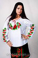 Женская  вышиванка в украинском стиле Калина
