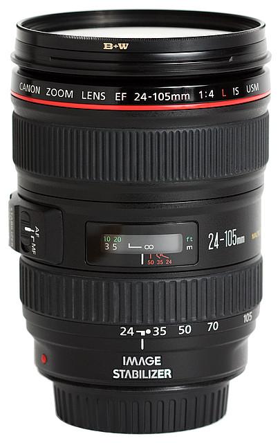 Кружка - объектив EF 24 - 105MM F/4L