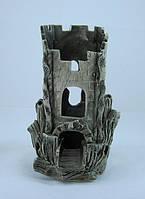 Керамика для аквариума Башня обрезная, 10х19 см., фото 1