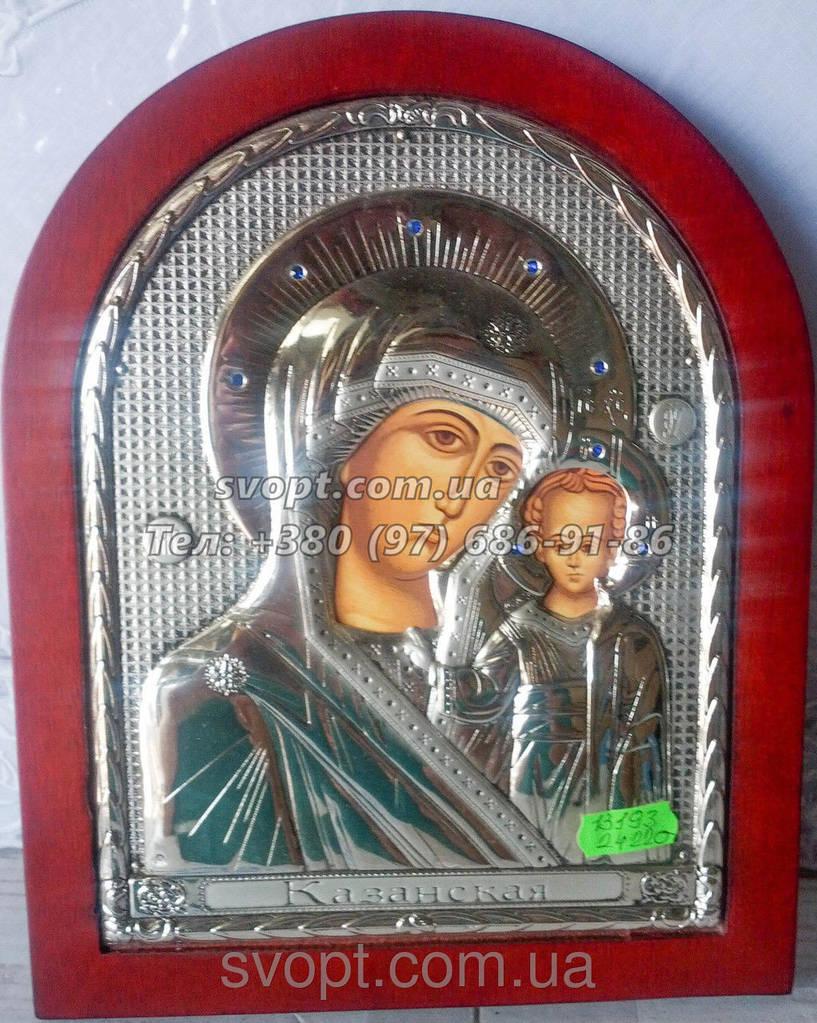 """Икона Казанская """"Божьей Матери"""" 20 x 25"""