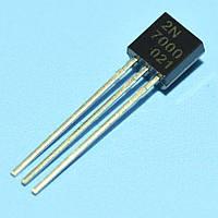 Транзистор полевой 2N7000  TO-92  CJ