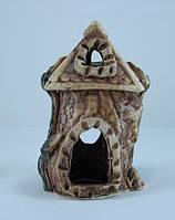 Кераміка для акваріума Теремок, 10х15 див., фото 1