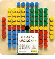 Мозаика детская деревянная,101 деталь пр-во Украина