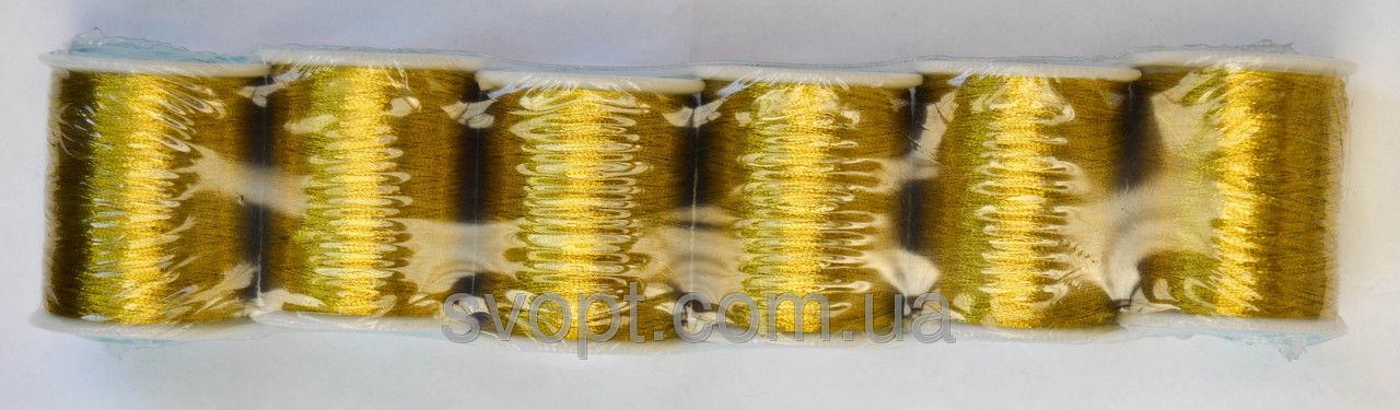 Нитки люрикс золотистый