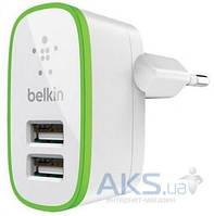 Зарядное устройство Belkin Home Charger 2 USB port 2.1 А White (BK670/2Ports)