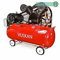 Компрессор Vulkan IBL2080D ременной (3 кВт, 480 л/мин, 2 цилиндра, 100 л)