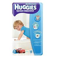 Трусики Huggies Little Walkers для мальчиков 5 (14-18кг) 15 шт.