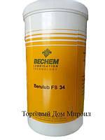 Смазка BECHEM с пищевым допуском Berulub FB 34 картридж 400гр