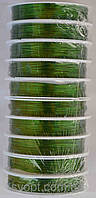 Проволока (зеленая) 10 бобин  в упаковке по 23м