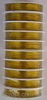 Проволока (золото) 10 бобин  в упаковке по 23м