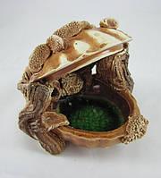 Керамика для аквариума Ракушка, 13х13 см., фото 1