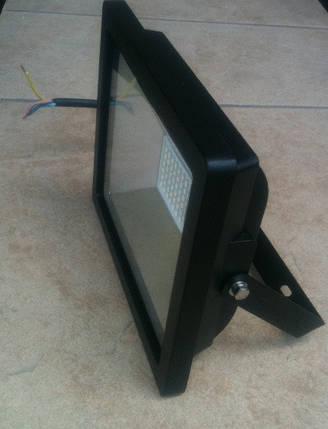 Светодиодный прожектор PREMIUM Slim SMD SL-4001 30W 6400K IP65 черный Код.56234, фото 2