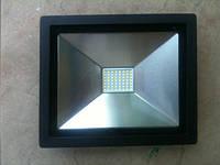 Светодиодный прожектор PREMIUM Slim SMD SL-4001 50W 6400K IP65 черный Код.56787, фото 1