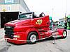 В Украину привезли уникальный грузовик-кабриолет