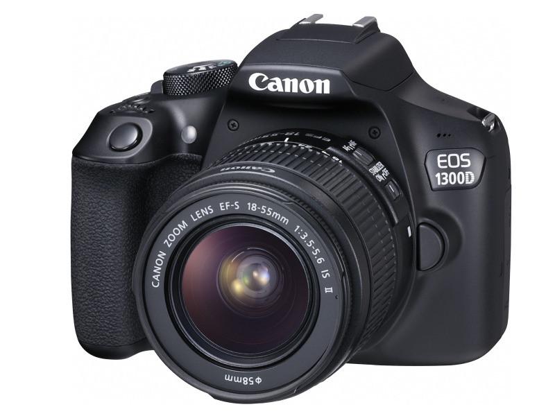 Фотоаппарат Canon EOS 1300D Kit 18-55mm IS ll  ( На складе! )