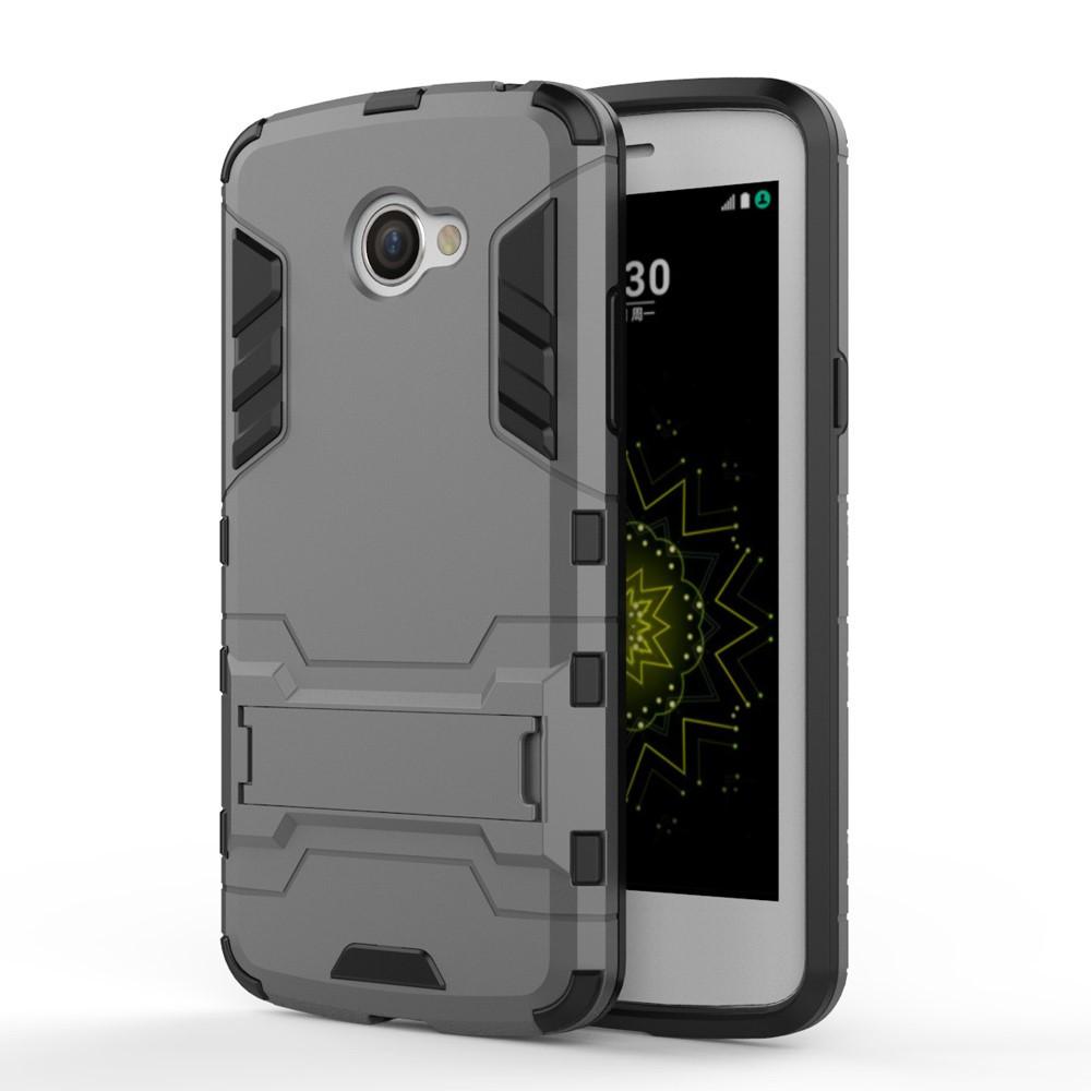 Чехол накладка силиконовый Armor Shield для LG K5 X220DS серый