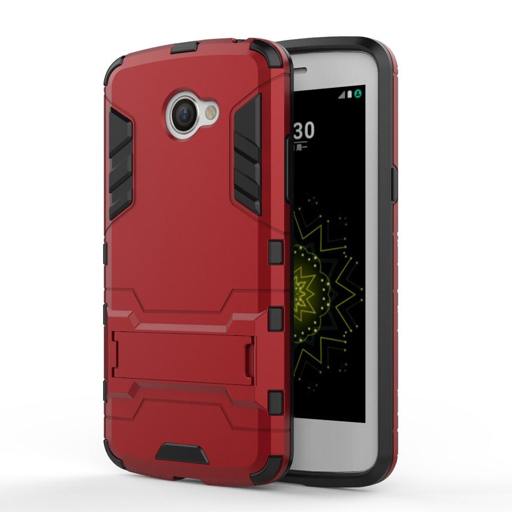 Чехол накладка силиконовый Armor Shield для LG K5 X220DS красный