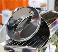 Коптильня для рыбы и мяса (нержавейка) d-200 mm М