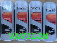 Губка-пропитка для обуви Silver черная