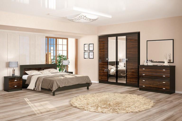Спальня ЄВА макасар (Мебель-Сервіс)