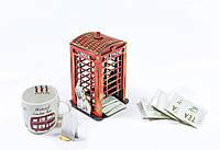 """Домик для чайных пакетиков - """"Телефонная будка"""" , фото 1"""