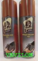 Спрей-краска для для замши и нубука Sandal черный 200 мл