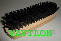 Щетка для обуви черная 12 см