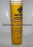 Смазка BECHEM с пищевым допуском Berulub FG-H 2 SL картридж 400гр