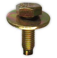 Болт с шестигранной головкой и отделимой плоской шайбой M6x20