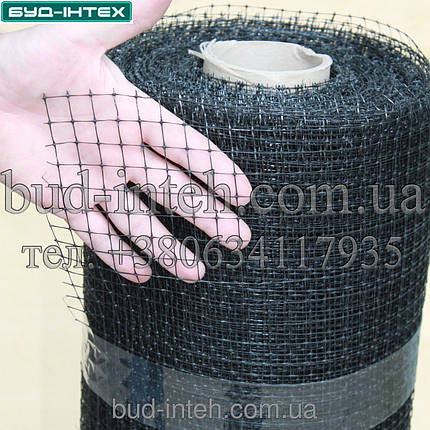 Сетка пластиковая от кротов  1*100 м (12*14мм), фото 2