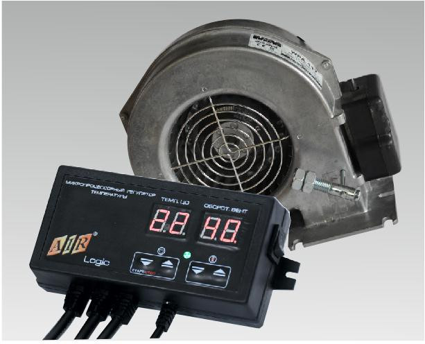 Комплект автоматики для твердопаливного котла AIR Logic + (WPA 117/120).