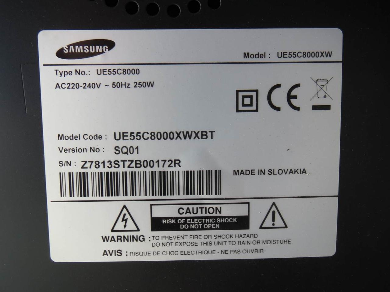 Запчасти от телевизора Samsung UE55C8000 (BN96-12723R, BN96-14056D BN41-01403A)