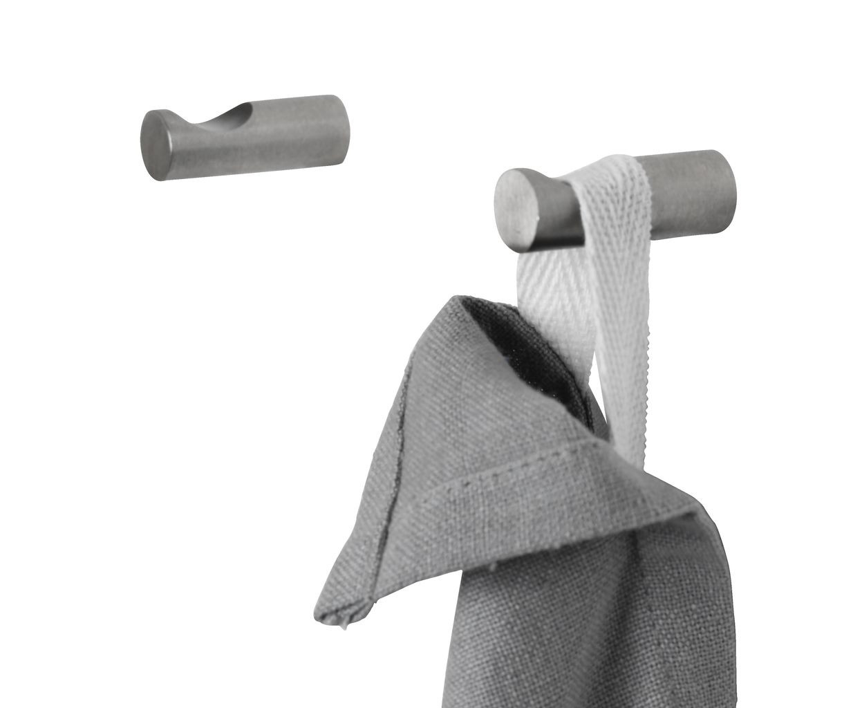 Крючки для полотенец (2 шт) (нержавеющая сталь)