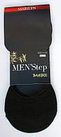 Мужские следы Marilyn Men Step Bamboo D70(Черный)