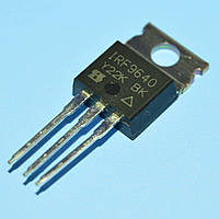 Транзистор полевой IRF9640  TO-220  Vishay