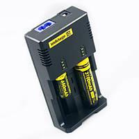 Универсальное зарядное устройство Nitecore I2 для аккумуляторов