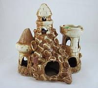 Керамика для аквариума Башня-грот на скале, 20х20 см., фото 1
