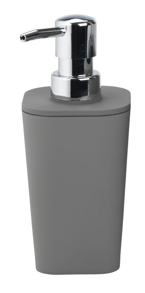 Дозатор - Диспенсер  для жидкого мыла механический серый пластик